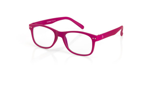 Blue Light glasses L Plum, pink by the side, glasses for blue light by Blueberry