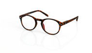 Blue Light reading glasses M Chestnut, brown tortoise by the side, glasses for blue light by Blueberry