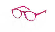 Blue Light glasses M Plum, pink, by the side, glasses for blue light by Blueberry