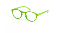 Blue Light glasses M Lime, green, by the side, glasses for blue light by Blueberry