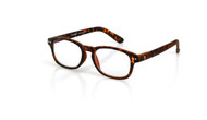 Blue Light glasses S Chestnut, brown tortoise, by the side, glasses for blue light by Blueberry