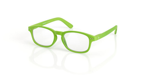 Blue Light glasses S Lime, green by the side, glasses for blue light by Blueberry