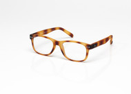 Blue Light glasses L Toffee Tortoise, Brown by the side, glasses for blue light by Blueberry