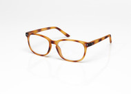 Blue Light glasses XL Toffee Tortoise, brown, chestnut by the side, glasses for blue light by Blueberry