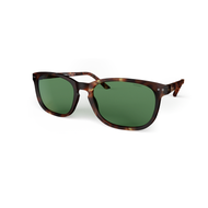 Beautiful Sunglasses XL Tortoise, Green Lenses by the side. Polarized sunglasses Blueberry