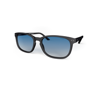 beautiful Blueberry Sunglasses XL Navy, Blue Gradient Lenses by the side. Polarized Sunglasses Blueberry