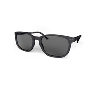 beautiful Sunglasses XL Grey, Grey Lenses by the side. Polarized sunglasses Blueberry