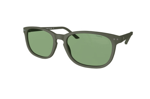 beautiful Sunglasses XL Kaki, Green Lenses by the side. Polarized sunglasses Blueberry