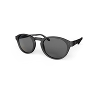 beautiful Sunglasses L+ Black, Grey Lenses by the side. Polarized sunglasses Blueberry.
