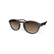 beautiful Sunglasses L+ Black, Brown Gradient Lenses by the slide. Polarized sunglasses Blueberry