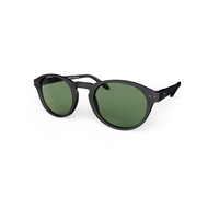 beautiful Sunglasses L+ Navy, Green Lenses by the side. Polarized blueberry Glasses