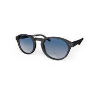 beautiful Sunglasses L+ Navy, Blue Gradiant Lenses by the side. Polarized sunglasses Blueberry