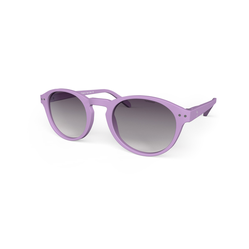 Sunglasses L+ Lilacs pink, Purple gradiant Lenses . Polarized Sunglasses Blueberry by the side