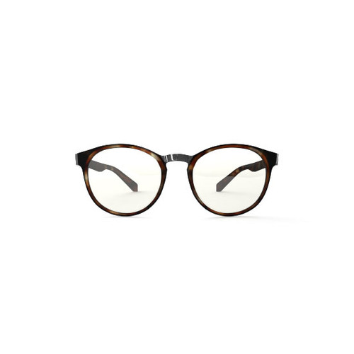 best Blue light Tri-focal Reading Glasses no line OZY M Tortoise.  Brown Reading glasses blocking blue light