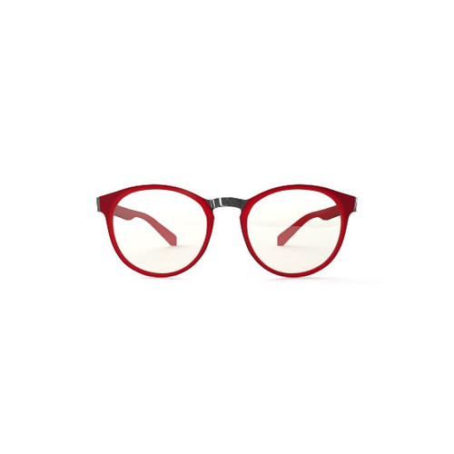 best Blue light Tri-focal Reading Glasses no line OZY M Red. Reading glasses blocking blue light