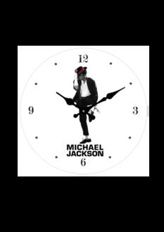 Michael Jackson Clock 17cm