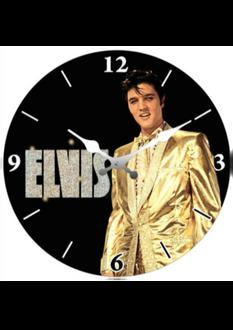 Elvis Clock 30cm