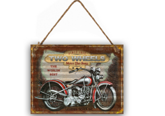 Corrugated iron Sign - Also available in the larger size of 80 x 60cm HJA215