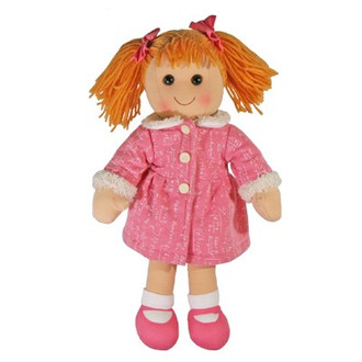 Hopscotch Doll Billie - Pink coat and shoes.