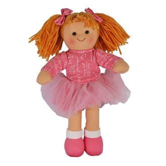 Hopscotch Doll Emmy - Pink top and ballerina skirt.