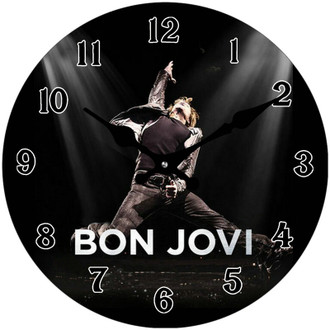 Bon Jovi Clock