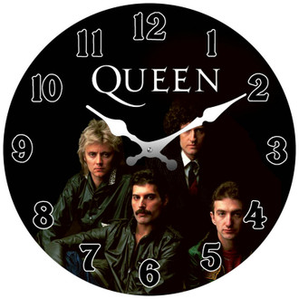 Queen Clock 17cm