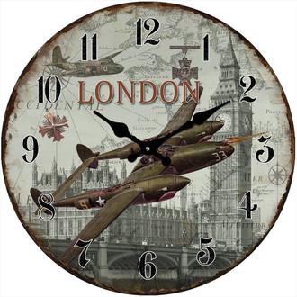 London Air Clock 17cm
