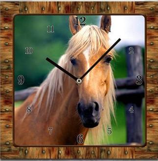 Horse Clock 15cm