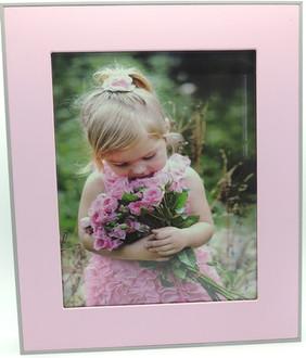Photo Frame Pink 5x7cm