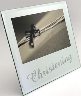 Christening Frame  18x17cm