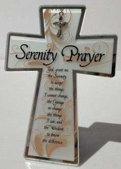 Cross Serenity Prayer 13x18cm