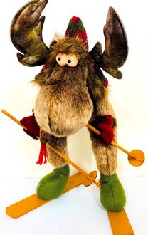 Deer Ralph Skiing 43cm
