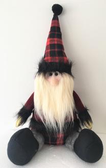 Santa Sitting 27cm