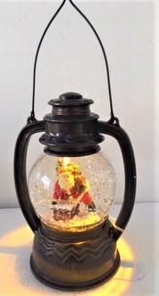 Santa in Lantern LED