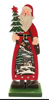 Santa Lightup 23cm