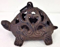 Cast Iron Turtle Tealight Holder 5cm