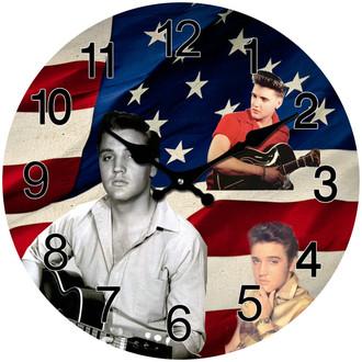 Clock Elvis 30cm