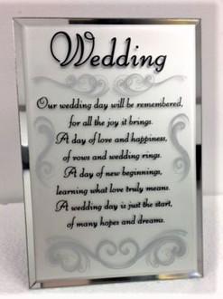 Wedding Plaque