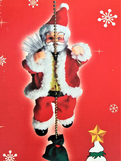 Singing Santa Climbing Chain - SALE