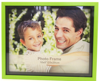 Shadow Box Frame Green 8x10
