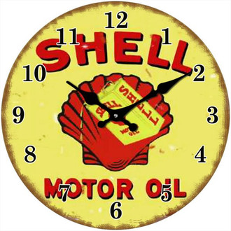 Clock Shell Motor Oil 30cm