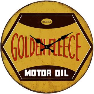 Golden Fleece Clock 38cm