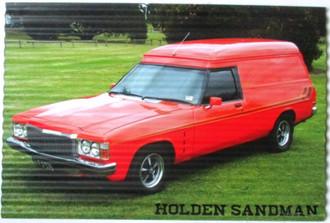 Sign Sandman 30x40cm