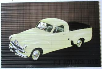 Sign FJ Holden Ute 30x40cm