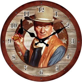 Clock John Wayne 17cm