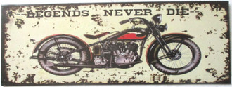 PL Legends never die 36x13cm