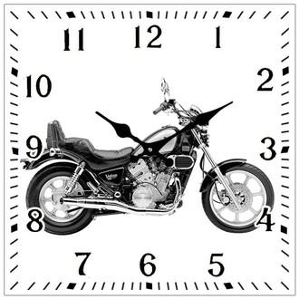 Victory M/Bike Clock 15cm