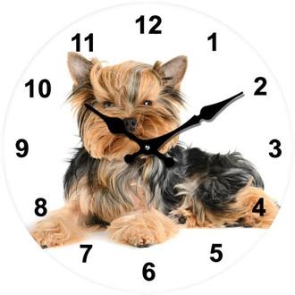 Terrier Clock 17cm