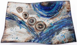 Blue Igniti Plate 42cm