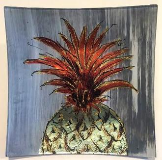 Pineapple Plate 19cm